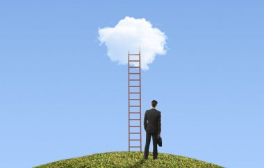ladder on cloud