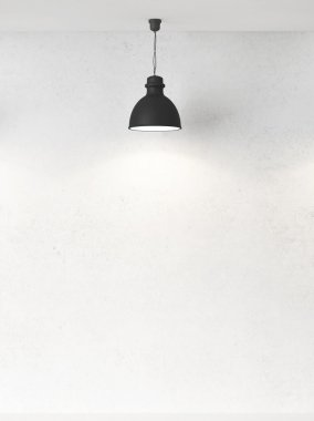wall and lamps