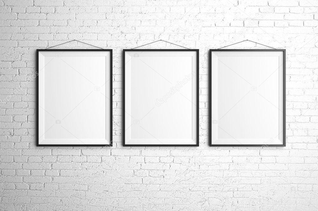 three frames — Stock Photo © peshkova #22066979