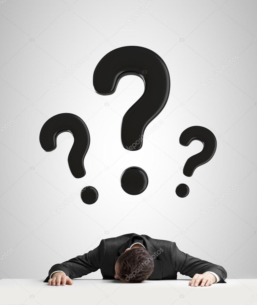 Question mark head png