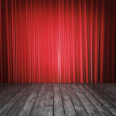 Fotografie red curtains