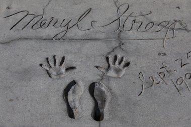 Meryl Streep's autograph