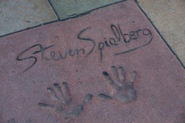 Steven Spielberg's autograph