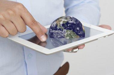 Business Computer Ipad Tablet Hands