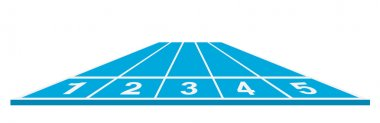 Running track (start position)