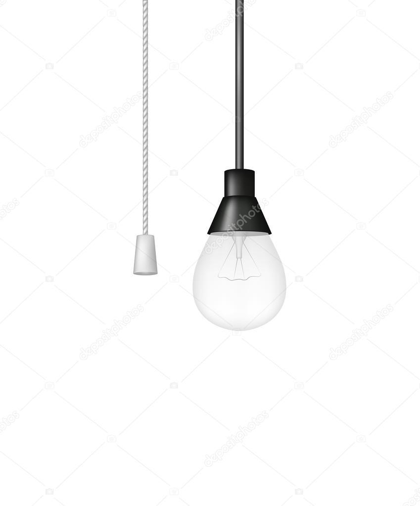 Avec — Tirette Ampoule Vectorielle Interrupteur Suspension Image À RjqAL543