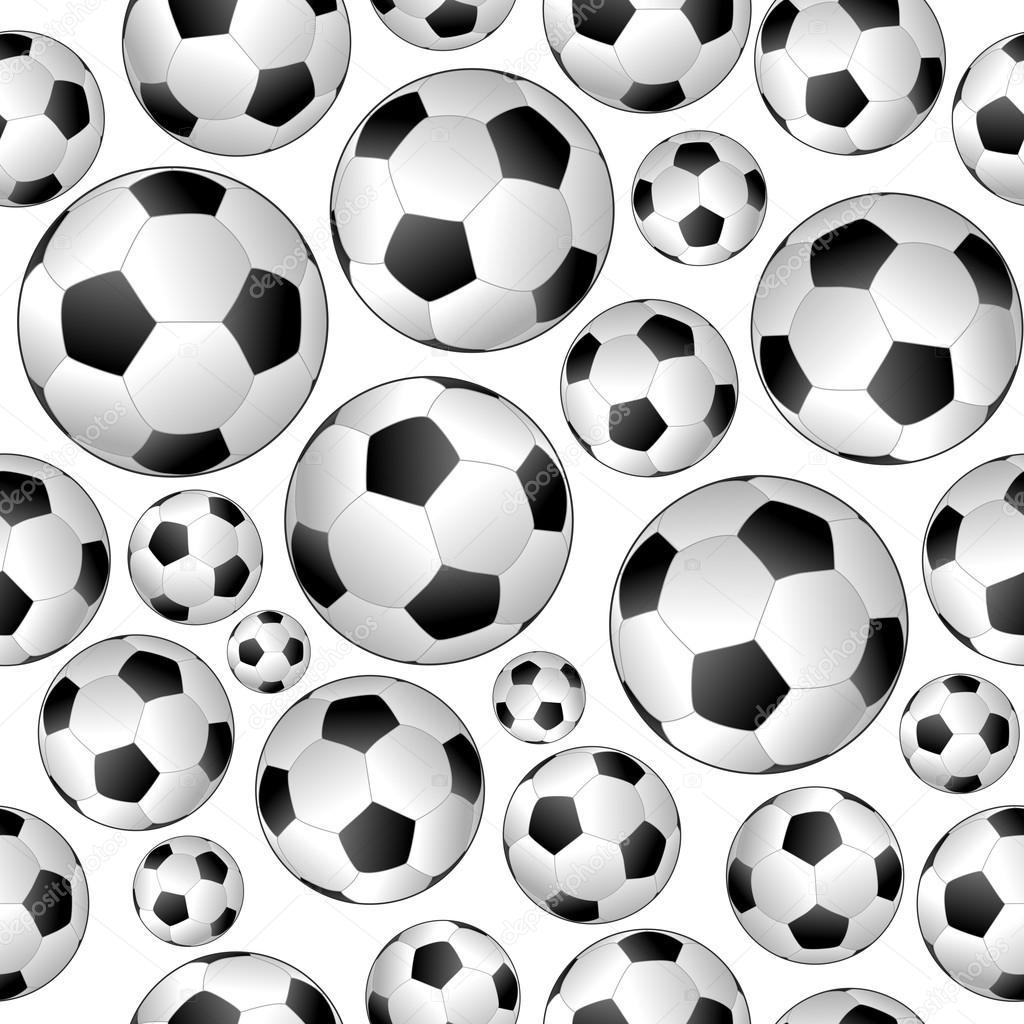 Soccer Pattern Simple Inspiration
