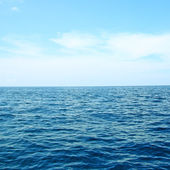 Blue sky and seascape