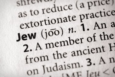 Dictionary Series - Religion: Jew