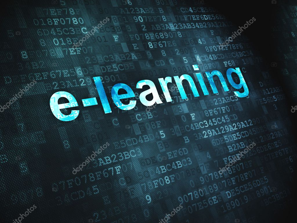 Education Concept E Learning On Digital Background Stock Photo C Maxkabakov 19947335