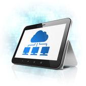 Návrh technologie cloud: Cloud síť v počítači tablet pc
