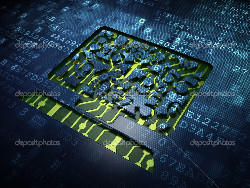 Le concept de l 39 ducation ordinateur pc sur fond d 39 cran for Les numeriques ecran pc