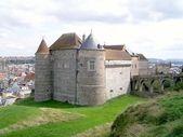 Castello di dieppe, in Normandia, Francia