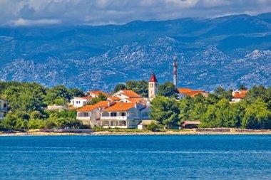 Island of Vir waterfront, Croatia