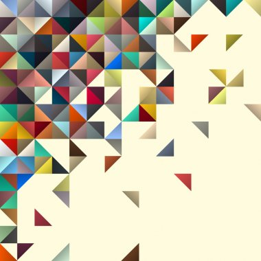 Abstract geometric background for design