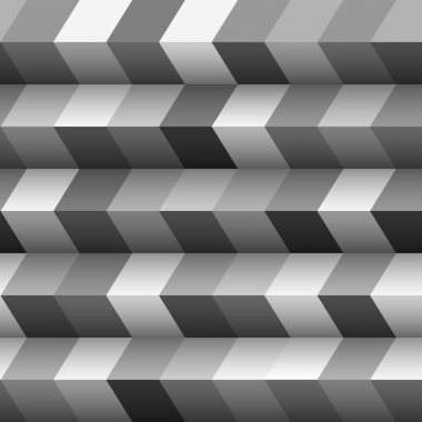 Monochrome geometric structured background