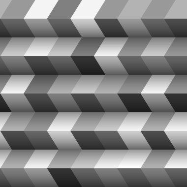 Monochrome geometric structured background