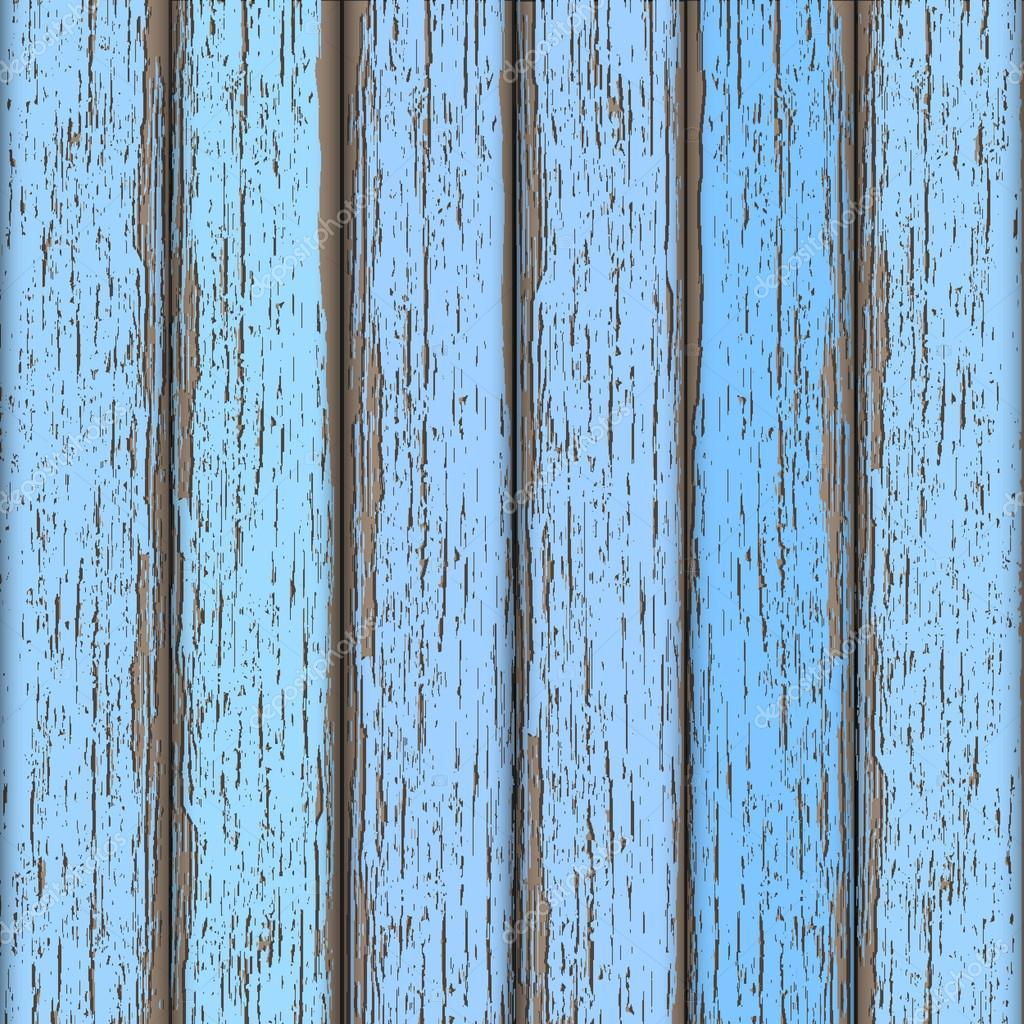 Light-blue old wooden fence