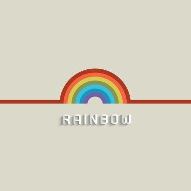 Stylish Rainbow design
