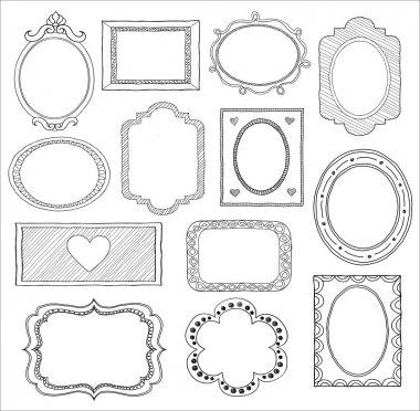 Doodle frame set