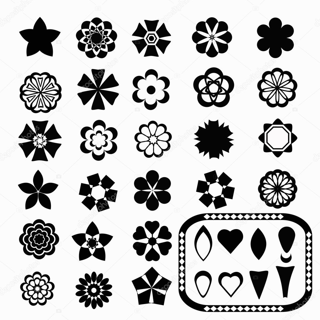 Flower_set and elements
