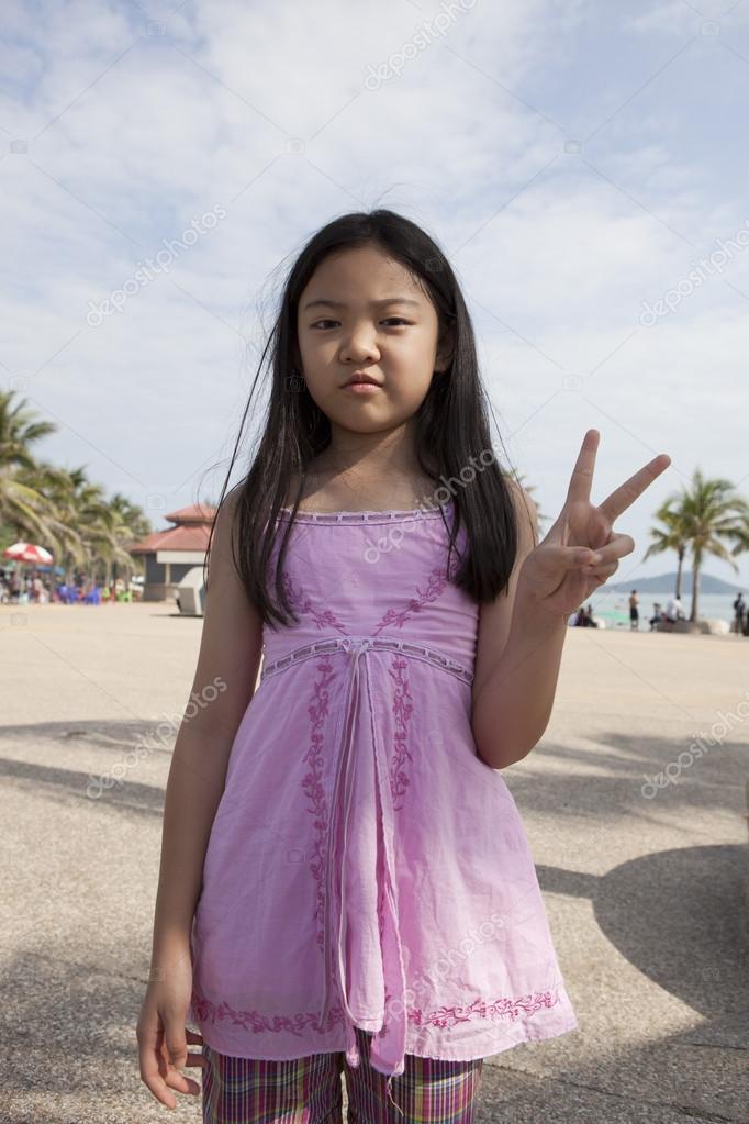 Asian girl show