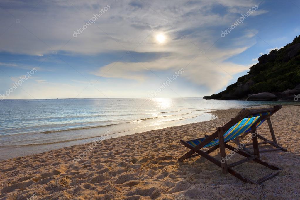 Sea scene in natural
