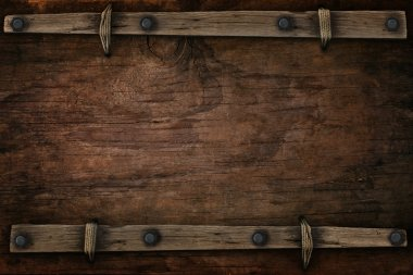 wood with free space western style