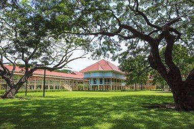 Beautiful landscape scene of Marukhathaiyawan Palace most dazzle