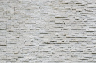 modern pattern of real stone wall