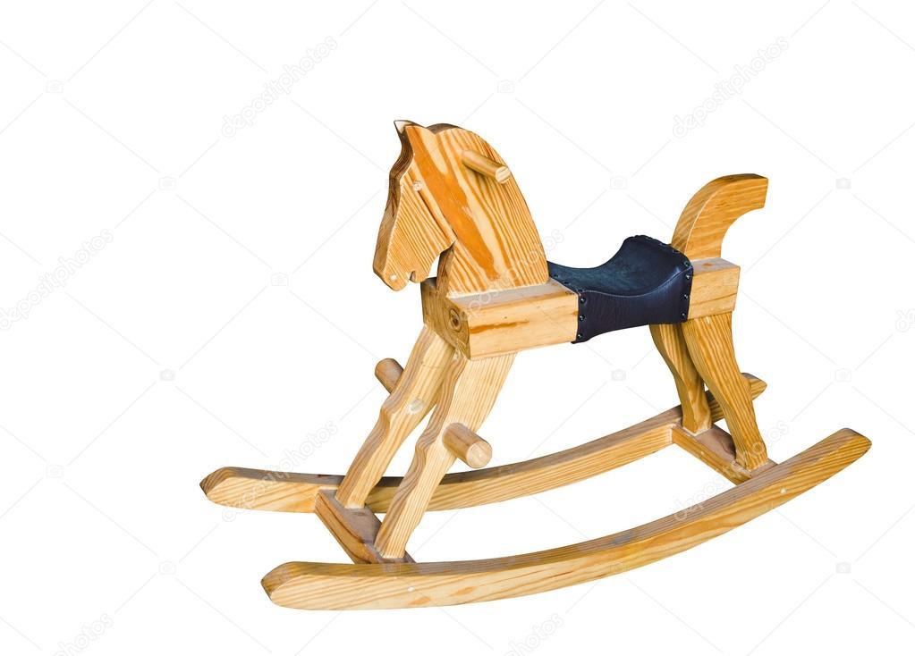 Sedie A Dondolo In Legno Per Bambini : Cavallo a dondolo in legno u foto stock wuttichok