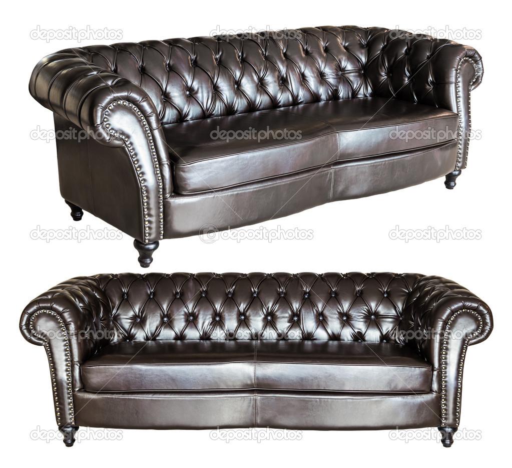 Vintage Black Leather Sofa Stock Photo Wuttichok 35331269 ~ Vintage Black Leather Sofa