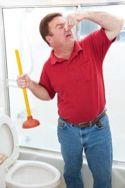 Nasty Bathroom Job