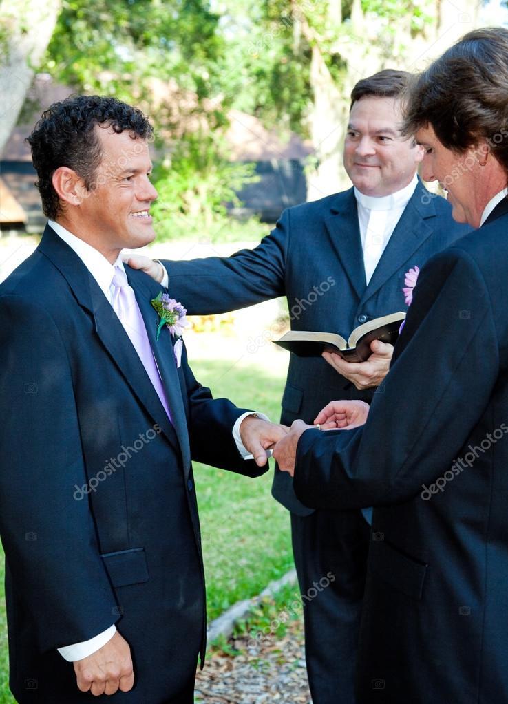ślub Gejów Pierścienie Zdjęcie Stockowe Lisafx 32271549
