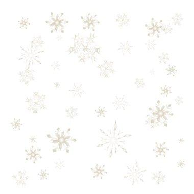 Flakes pattern