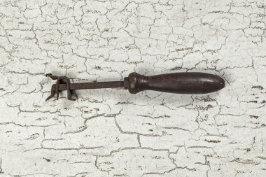 Antique carpenter tool (Still life)