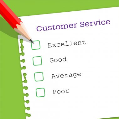 Customer service paper