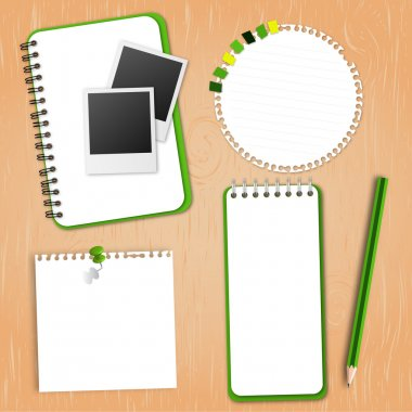 Green Collection Notebook Paper