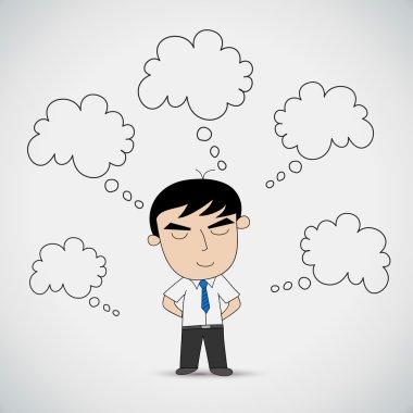 Businessman Dreaming