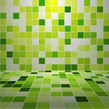 Mosaic Tiled Wall