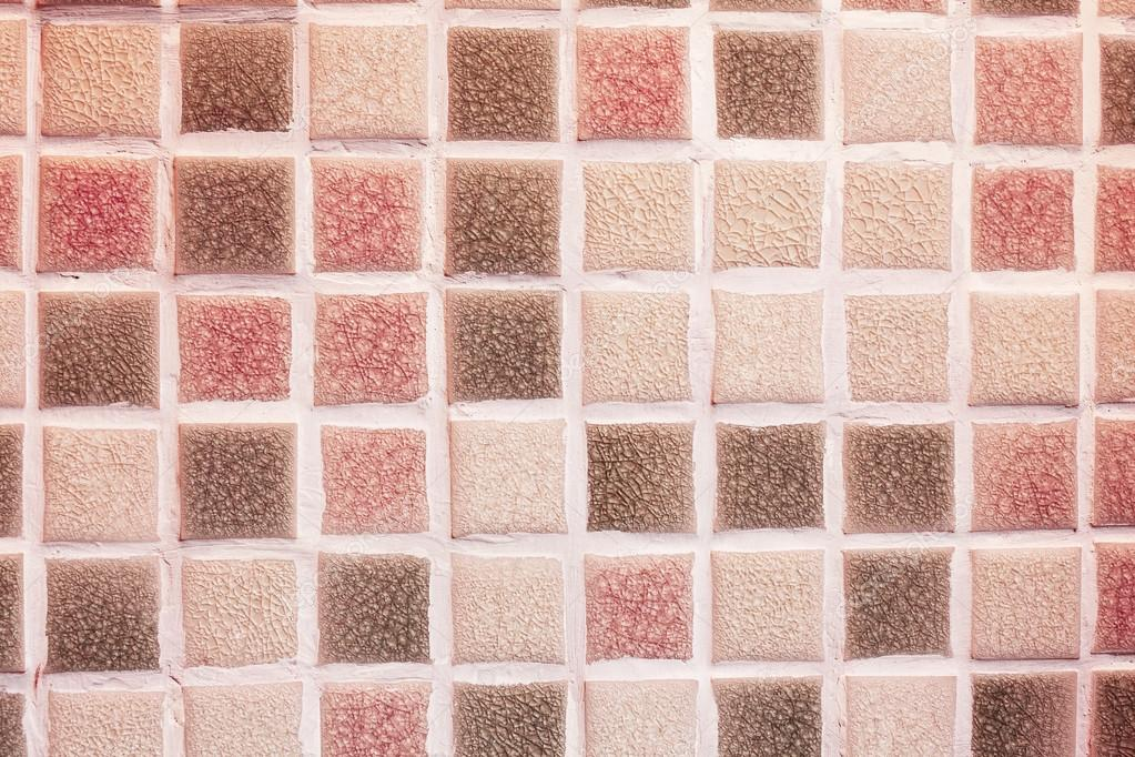 glass mosaic tiles in the bathroom