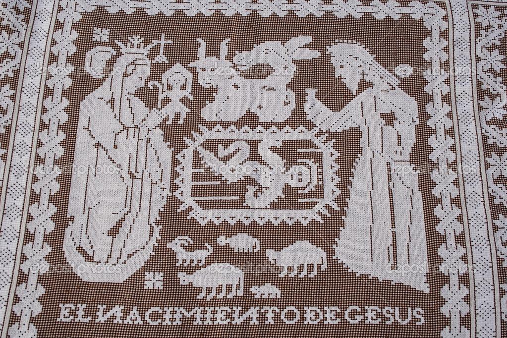 Feast Of Corpus Christi Lagartera Toledo Spain Stock Editorial