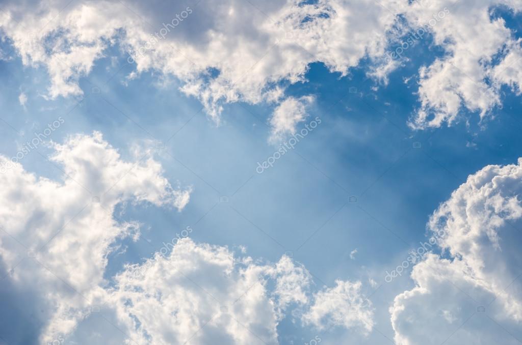 Clound light sky