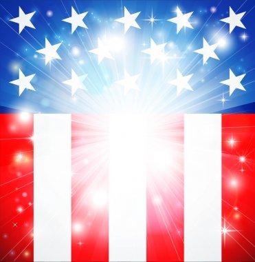 American flag patriotic background