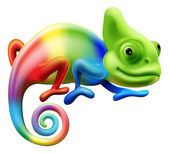 Photo Rainbow chameleon