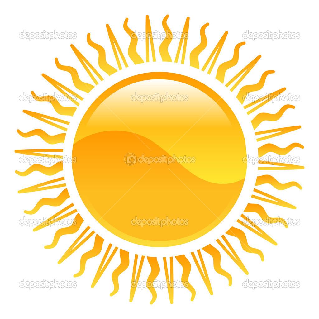 weather icon clipart sun illustration u2014 stock vector krisdog