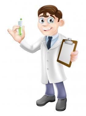 Scientist cartoon