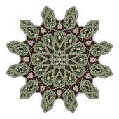 motiv Středního východu květinovým vzorem