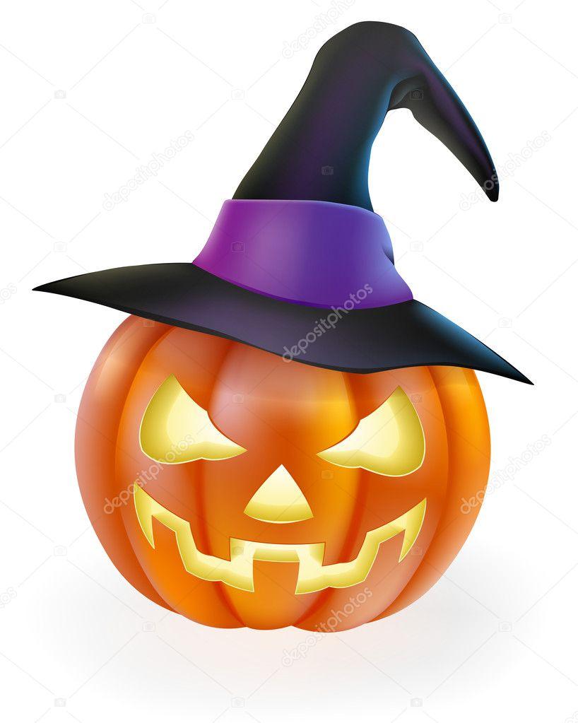 Imagenes Bruja Calabaza Halloween Calabaza De Halloween En - Calabaza-hallowen
