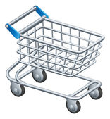 Fotografie Shopping trolley icon